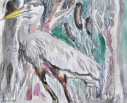 Heron Stare by Emily Michaud