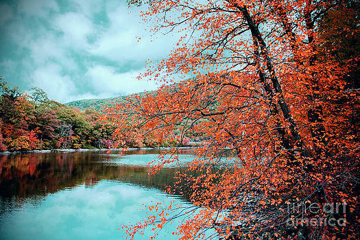 Hessian Lake at Bear Mountain by Daniel Portalatin Photography