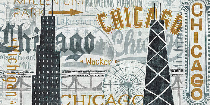 Hey Chicago Vintage by Michael Mullan