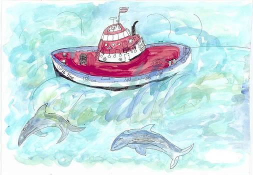 Hi Tide by Helen Holden-Gladsky