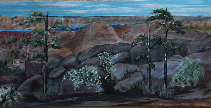 Hidden Canyon by Shirley Watts