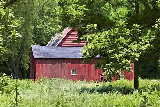 David Letts - Hidden Red Barn