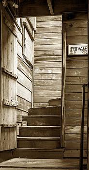Hidden Stairway by Michael Fahey