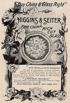 Higgins Seiter Fine China Ad by Paula Talbert