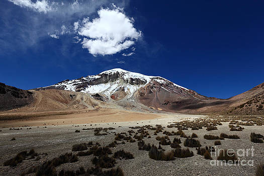 James Brunker - High Altitude Desert and Sajama Volcano