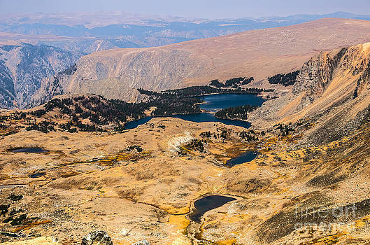 High Altitude Lakes by Sue Smith
