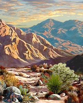 High Desert Wash portrait by Ron Chambers