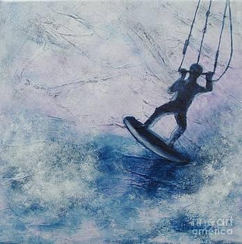 High sea by Lisbet Damgaard
