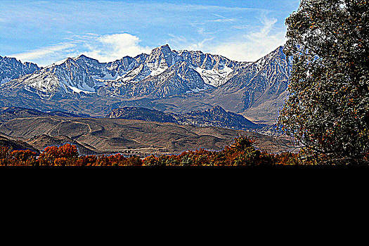 Lynn Bawden - High Sierra Panorama