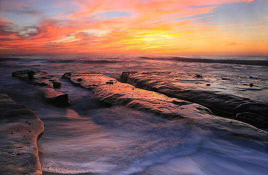 High Tide Sunset by Scott Cunningham