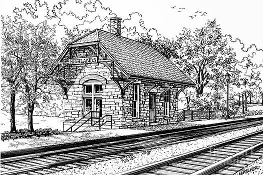 Highlands Train Station by Mary Palmer