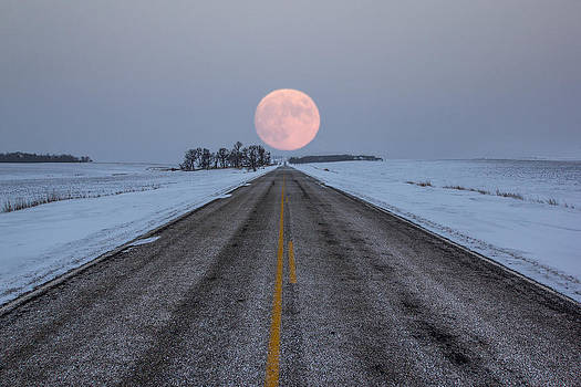 Highway to the Moon by Aaron J Groen