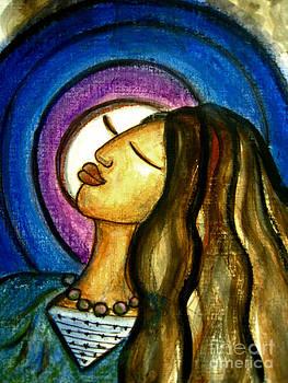 Hija de la luna woman of the moon by Rosemary Lim