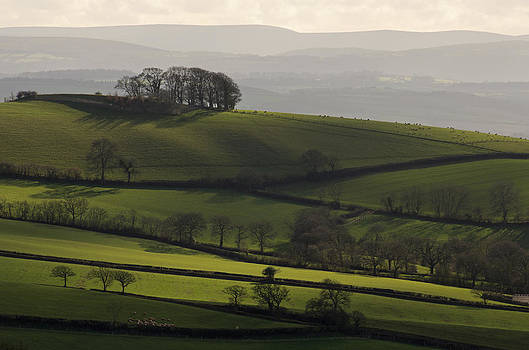 Hills and fields by Pete Hemington