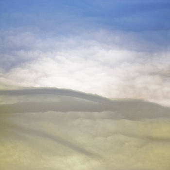 Hills Clouds and Sky by Susan Leggett