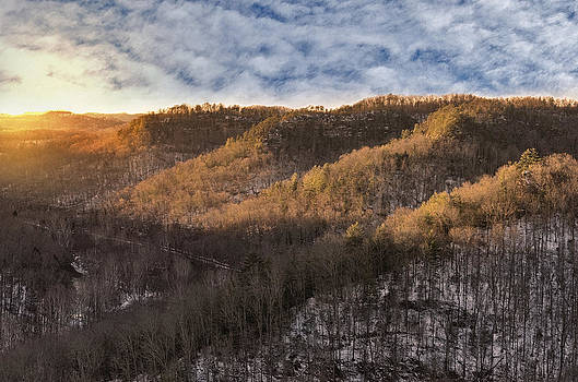 Hillside Sunset by Diana Boyd