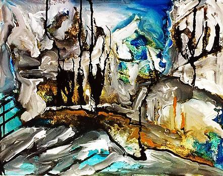 Hinze Dam by Helen Syron