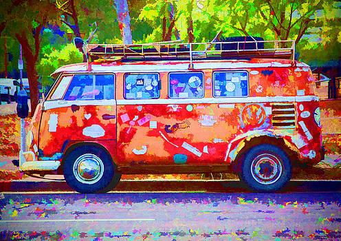 Hippie Van by Jaki Miller