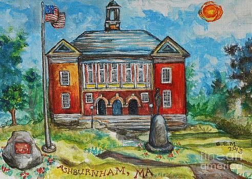 Historic Ashburnham Town Hall by Emily Michaud