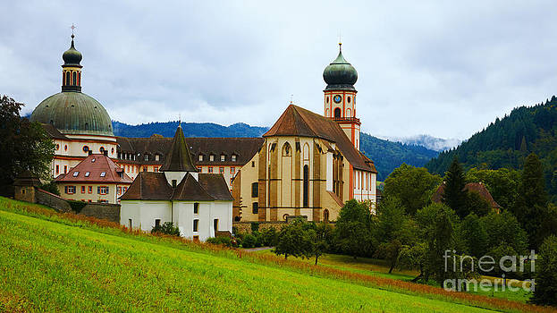 Nick  Biemans - Historic monastery in the Black Forest
