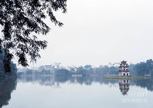 Hoan Kiem Lake by Paul Frederiksen