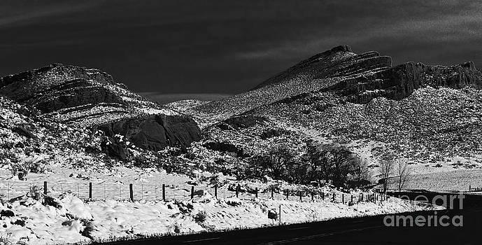Jon Burch Photography - Hogbacks in the snow