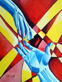 Hold My Hand  by Fatima Hameurlaine