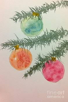 Holiday Card 3 by Eunice Miller