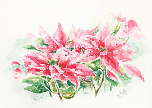 Holiday Flowers by Elisabeta Hermann