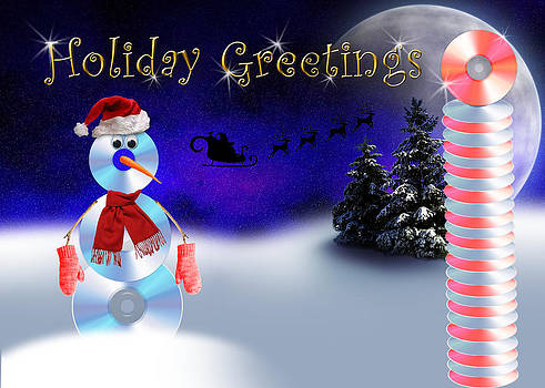 Jeanette K - Holiday Greetings CD Man