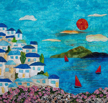 Holiday In Greece by Maureen Wartski