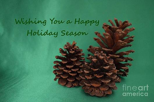 Mary Deal - Holiday Pine Cones