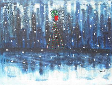 Holiday Skyline by Diane Pape