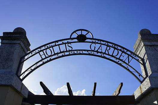 Laurie Perry - Hollis Gardens Entrance