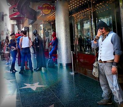 Hollywood Super Heros by Tonie Cook