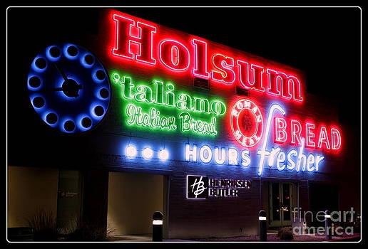 Holsum Neon Las Vegas by Kip Krause