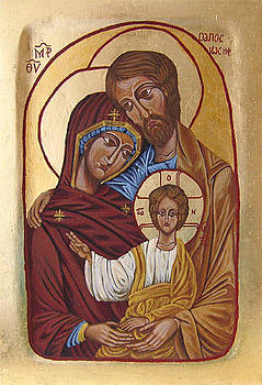 Holy Family by Karolina Wicha