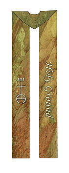 Holy Ground Cotton Clergy Stole by Julie Rodriguez Jones