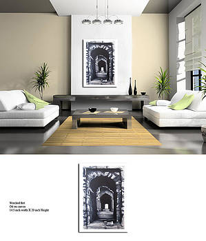 Home interior 3D rendering by Prabhootty Parambath
