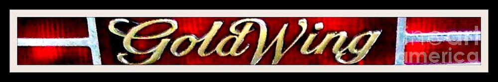 Gail Matthews - Honda Goldwing Motorcycle Tail Light Embloem