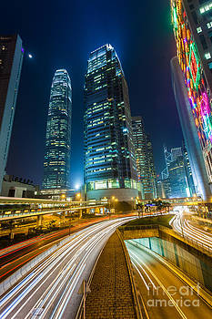 Fototrav Print - Hong Kong City at Night