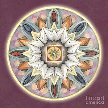 Honor Mandala by Jo Thomas Blaine