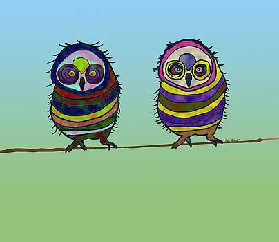 Kate Farrant - Hoot Hoot Cute Owls