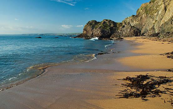 Hope Cove in the South Hams of Devon by Pete Hemington