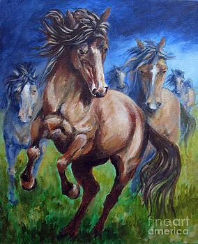 Horse 4 by Carol Hart