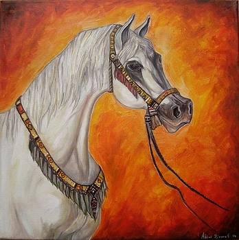 Horse by Abbas Djamat