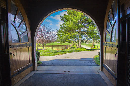 Jack R Perry - Horse barn