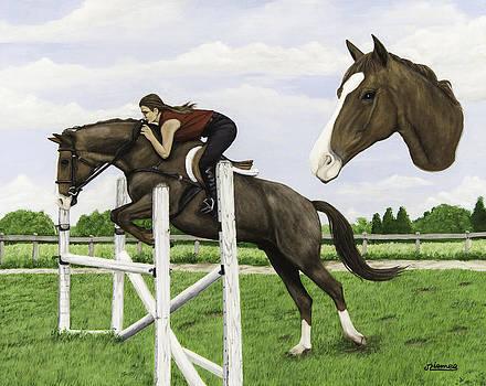 Horse Portrait by Jim Ziemer