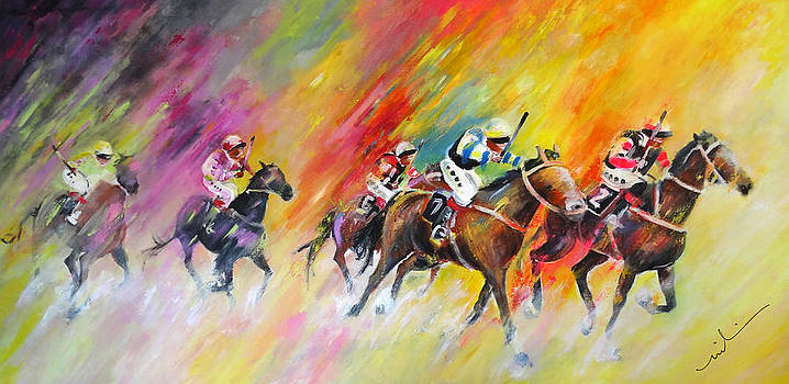 Miki De Goodaboom - Horse Racing 03