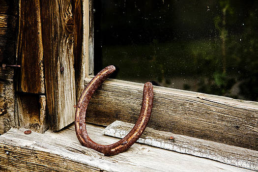 Horse shoe and window by Patrick Derickson